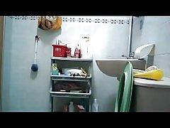 SG singapore voyeur duscha