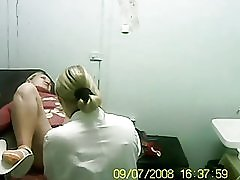Blondin besökte min läkare.