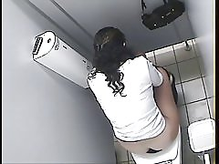 Arabiska flicka toalett spy